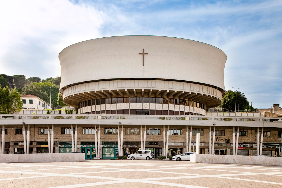 Duomo di La Spezia su Piazza Europa