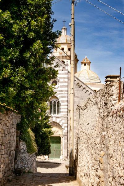 Facciata e Cupola della Chiesa di San Lorenzo