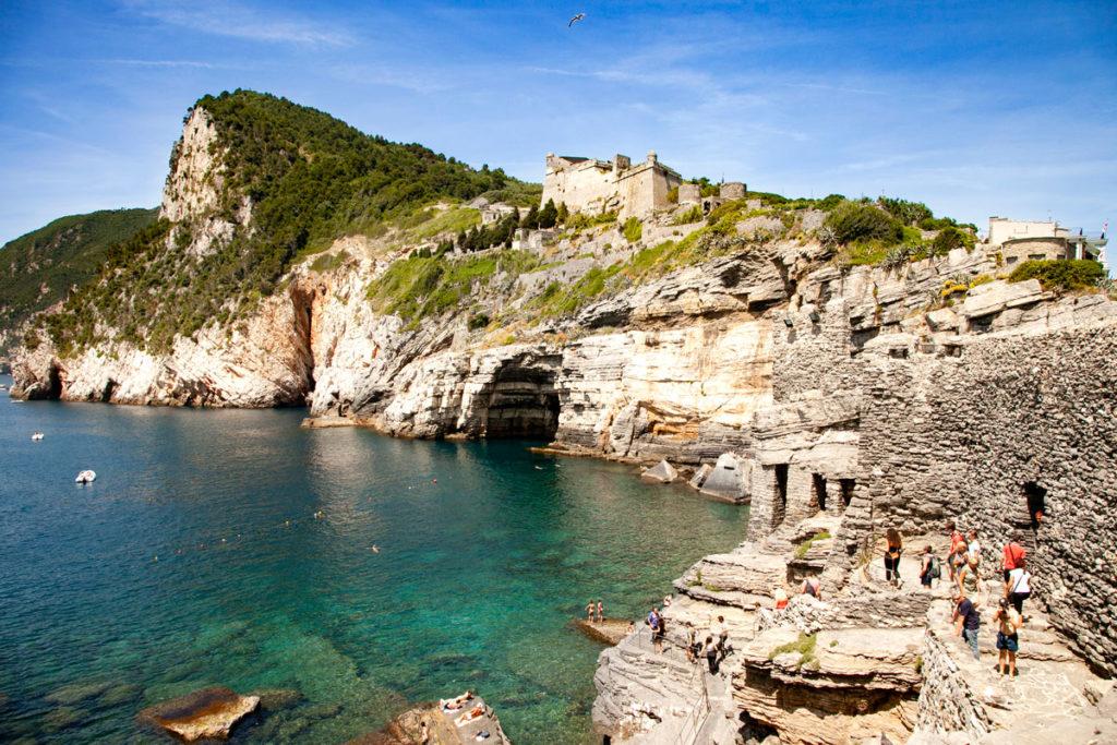 Grotta di Byron o Grotta Arpaia e Castello Doria - Portovenere