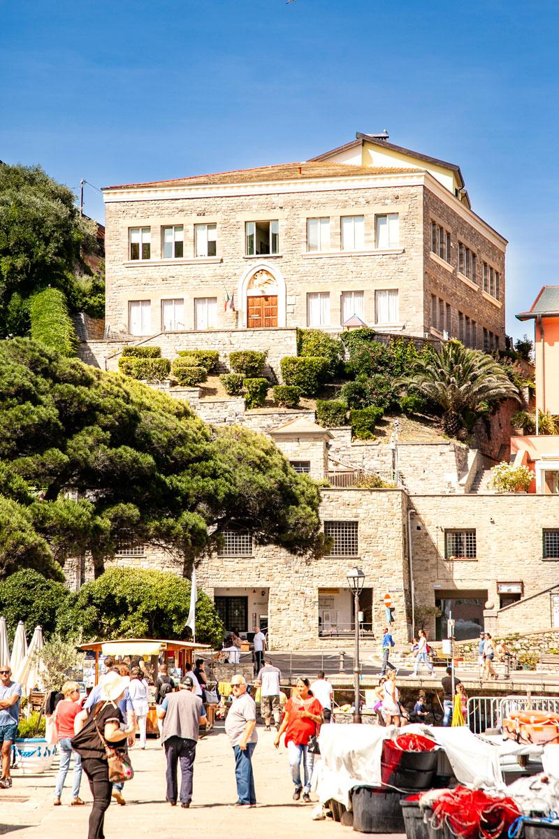 Il Municipio di Portovenere