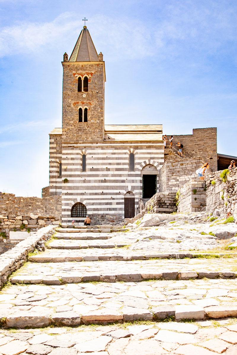 La Chiesa di San Pietro di Portovenere