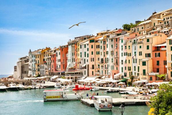 La Palazzata a Mare di Portovenere - Liguria