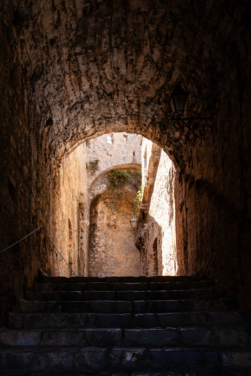 Nelle Scalinate del Castello Doria