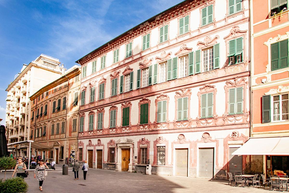 Palazzo Oldoini e palazzi liberty - La Spezia