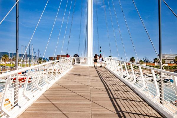 Ponte Thaon de Revel da Passeggiata Morin al Porto Mirabello