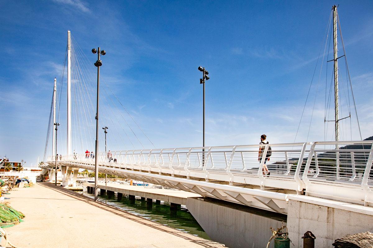 Ponte Thaon de Revel - la Spezia