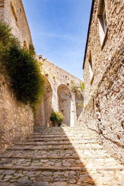 Scalinate del Castello Doria - Cosa Vedere a Portovenere - Liguria