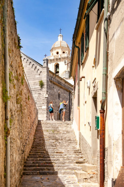 Vie del Centro Storico e Chiesa di San Lorenzo - Portovenere