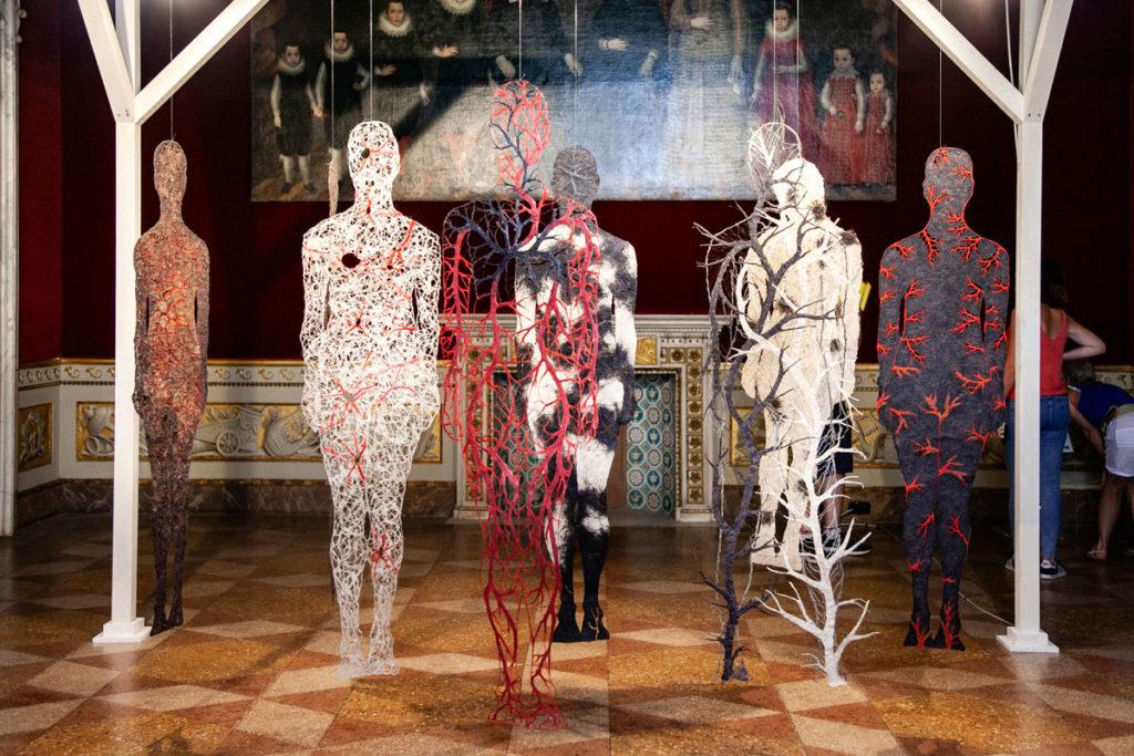 Raija Jokinen - Arte con la Carta al Palazzo Ducale di Lucca - Cartasia 2018
