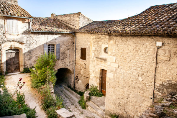 Abitazioni storiche del villaggio di Gordes