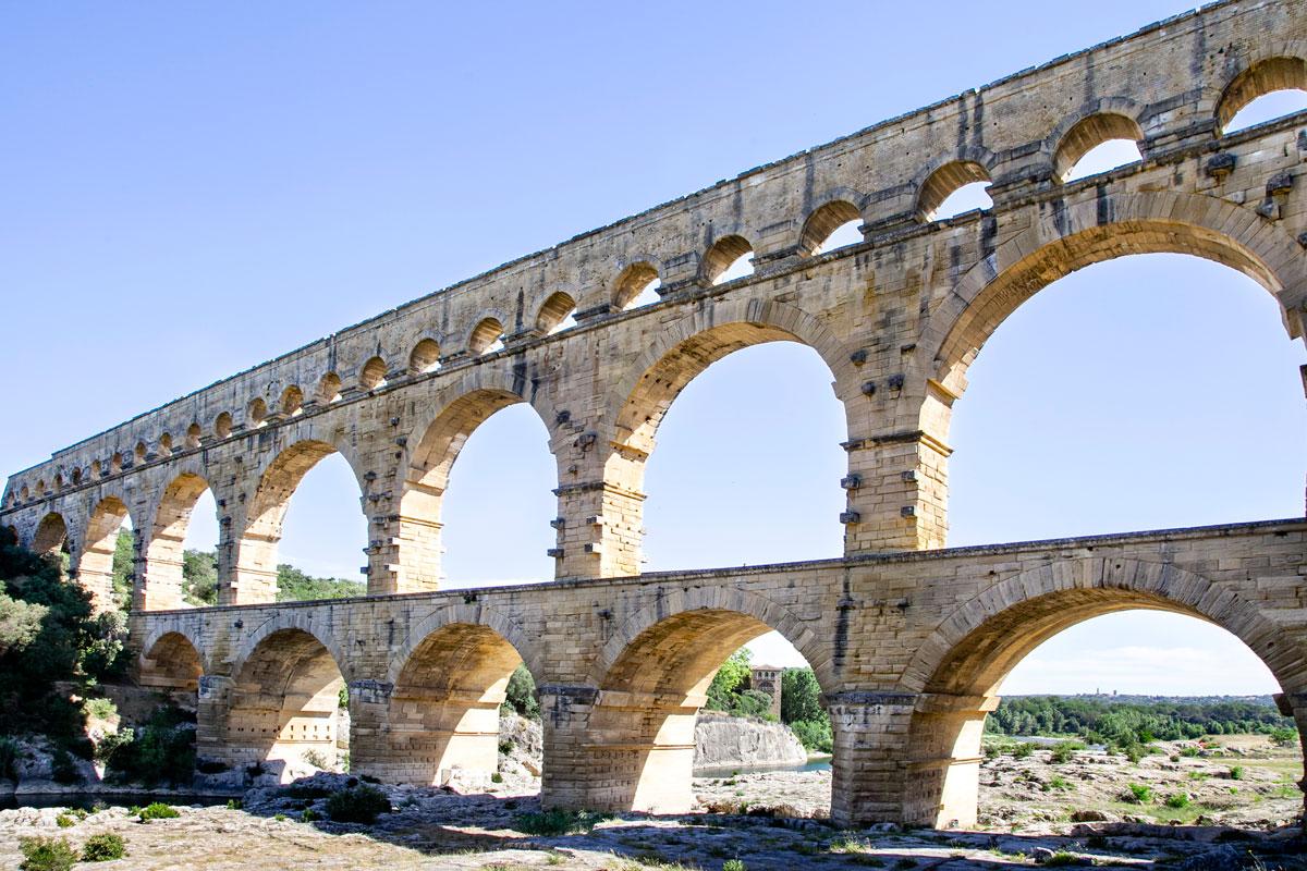 Acquedotto Romano da Uzes a Nimes