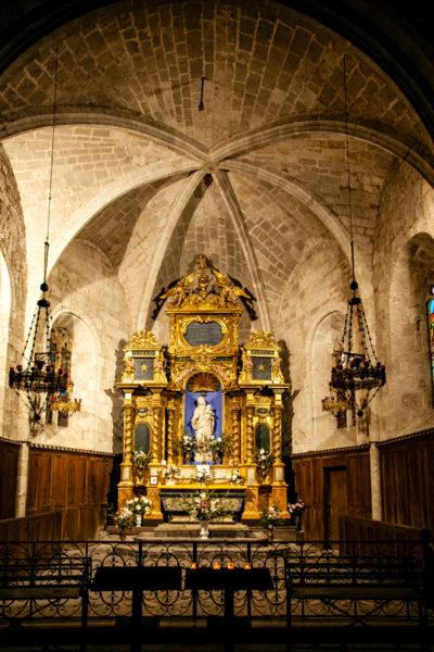 Altare della Chapelle Notre Dame de Beauvoir