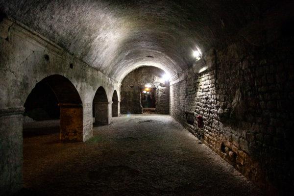 Arles sotterranea - Gallerie che sorreggevano place de la republique