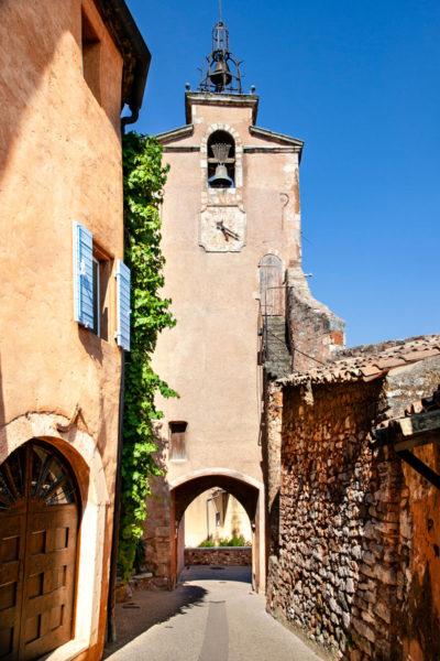 Beffroi - la porta di ingresso al borgo di Roussillon