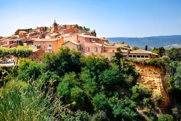 Borgo di Roussillon in Provenza