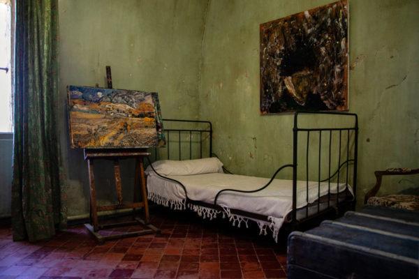 Camera di Vincent van Gogh dentro ospedale psichiatrico di Saint Paul de Mausole - Saint Remy de Provence