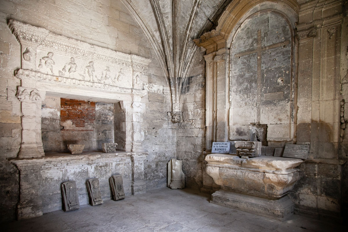 Cappella funeraria - Necropoli di Arles