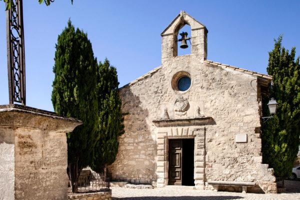 Chapelle Saint Blaise o Chapelle des Penitents Blancs - Les Baux de Provence