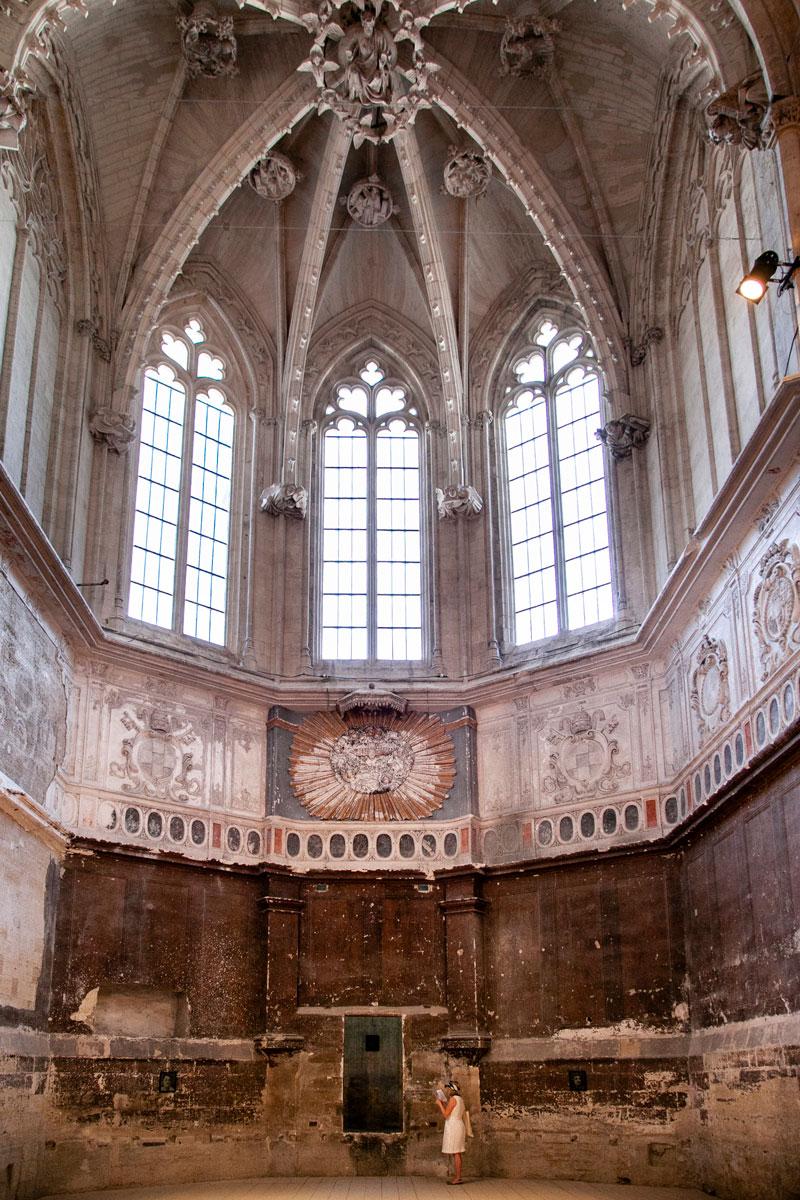 Chiesa dei Celestini durante il festival di Avignone