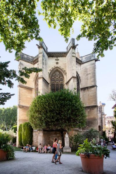 Chiesa di Saint Martial - Immersa nel parco