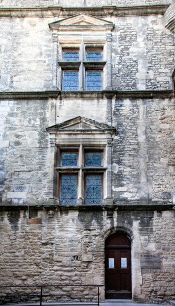 Corte interna del castello di Gordes