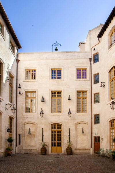 Cortile interno del Palais du Roure - Avignone