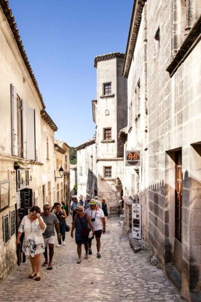 Cosa vedere a Les Baux de Provence - i vicoli del centro storico