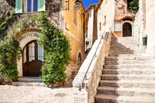 Eza - Borgo in Costa Azzurra - Scorci del Centro Storico