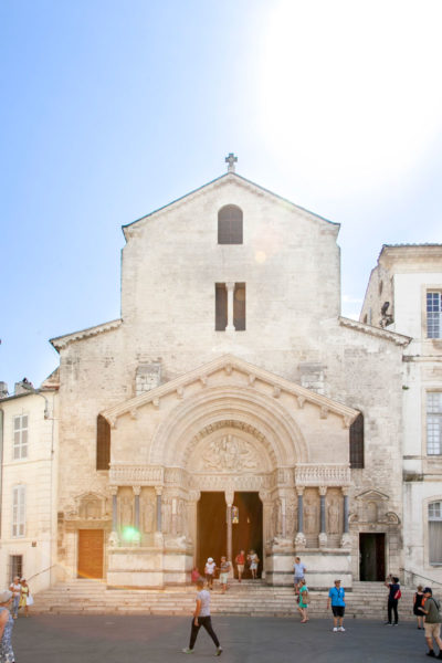 Facciata Cattedrale Saint-Trophime di Arles