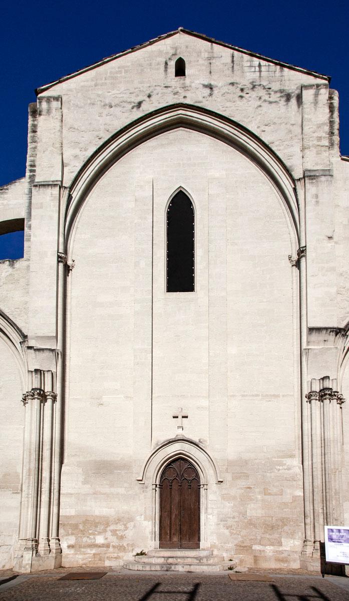 Facciata chiesa dei Celestini di Avignone