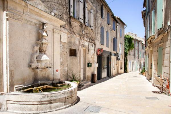 Fontana di Nostradamus a Saint Remy de Provence