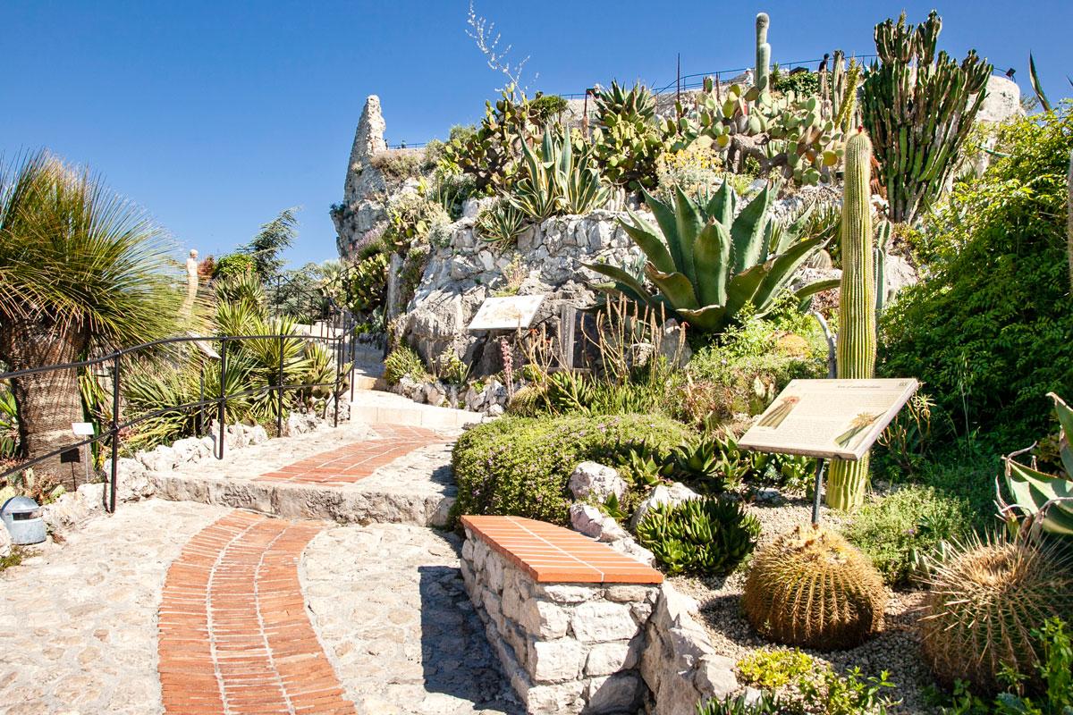 Giardino Esotico di Eza - Costruito dopo la Seconda Guerra Mondiale