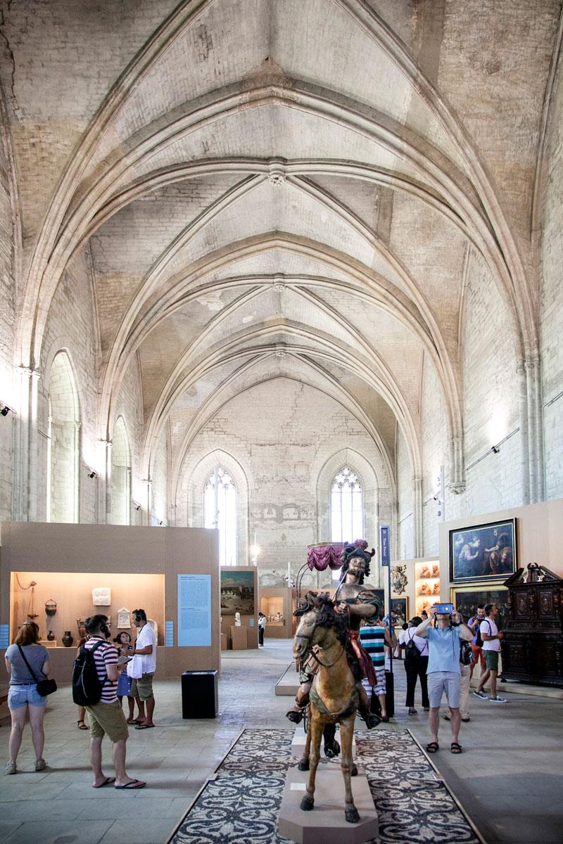 Grande Chapelle o Chapelle Clementine - Palais Neuf - Palazzo dei papi di Avignone