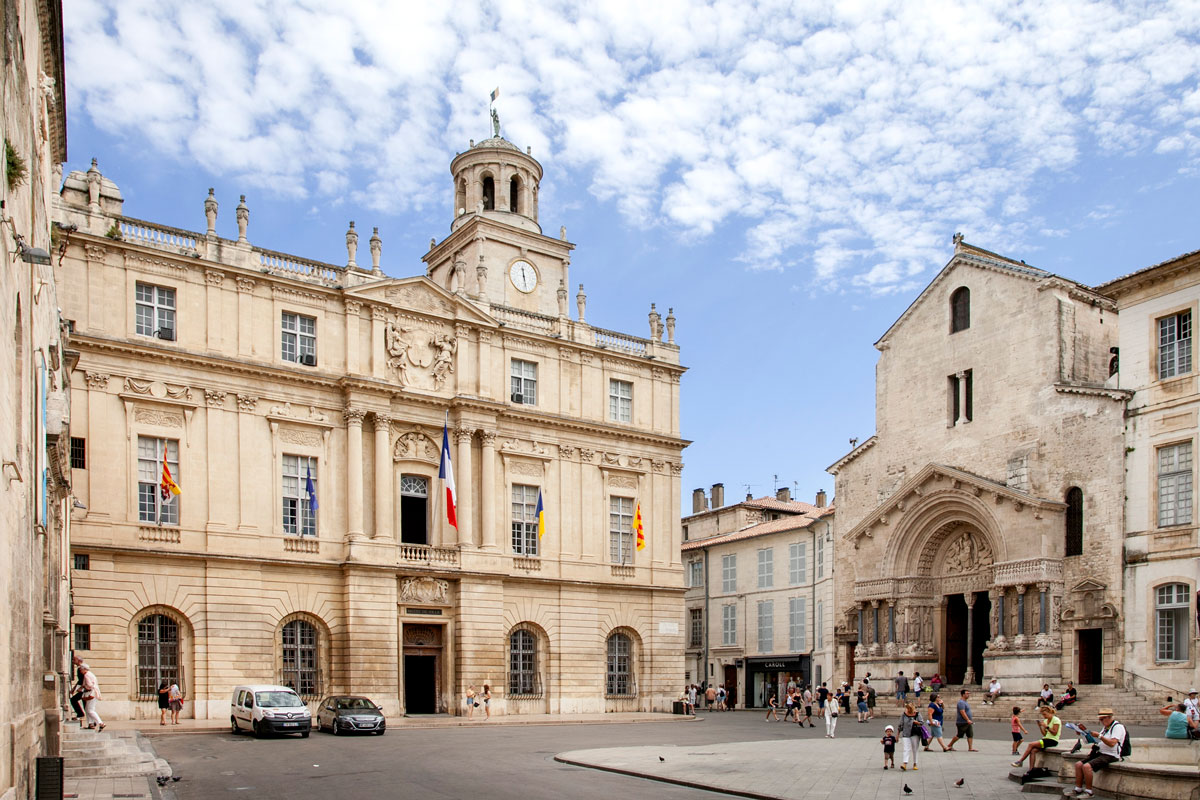 Hotel de Ville - Municipio di Arles
