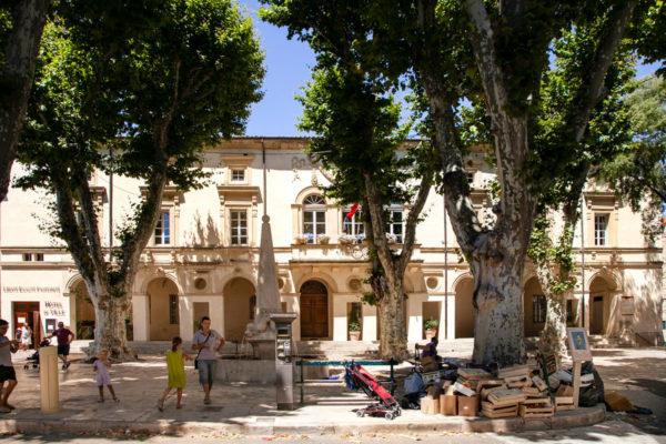 Hotel de Ville di Saint Remy de Provence dentro al convento degli augustiniani