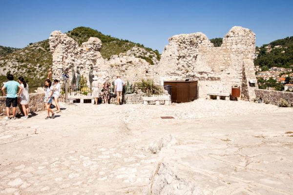 I resti del castello - Chateau di Eza
