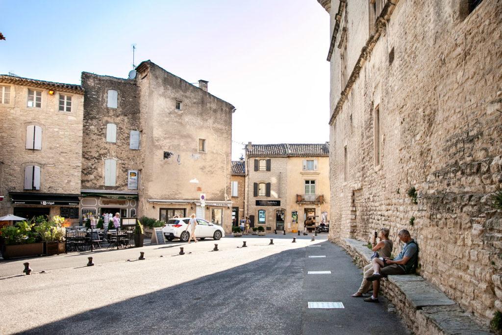 Il centro storico e il castello di Gordes - Provenza
