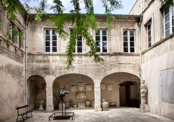 Il chiostro interno del museo Reattu - Ex monastero del XV secolo