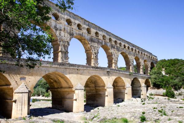 Il grandissimo Pont du Gard - Una settimana in Provenza