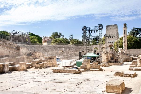 Il teatro Antico di Arles