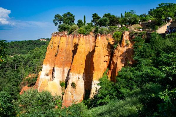 Il villaggio di Roussillon