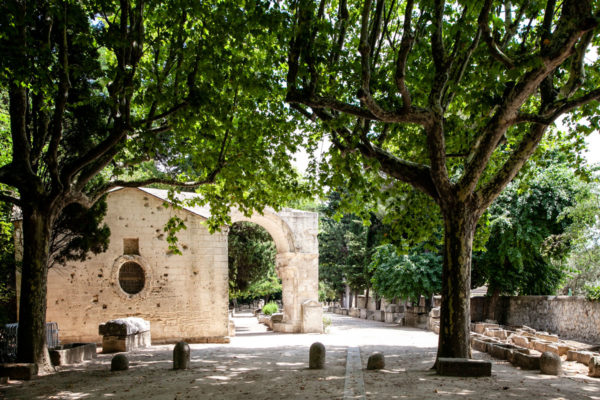 Ingresso a Les Alyscamps - Necropoli di Arles