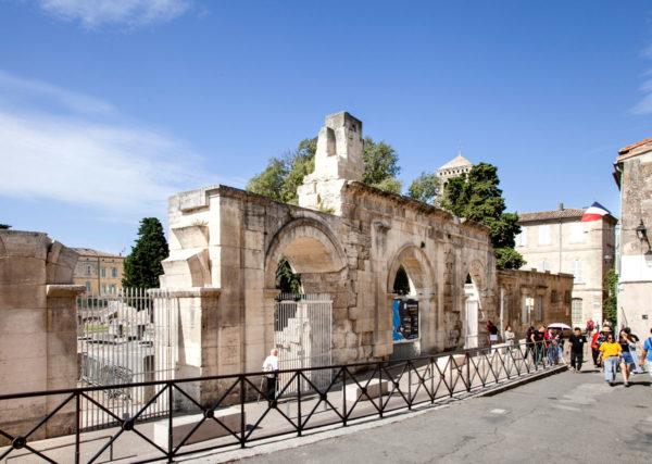 Ingresso al Teatro Antico di Arles