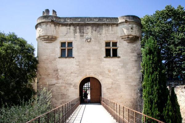 Ingresso al ponte di Avignone