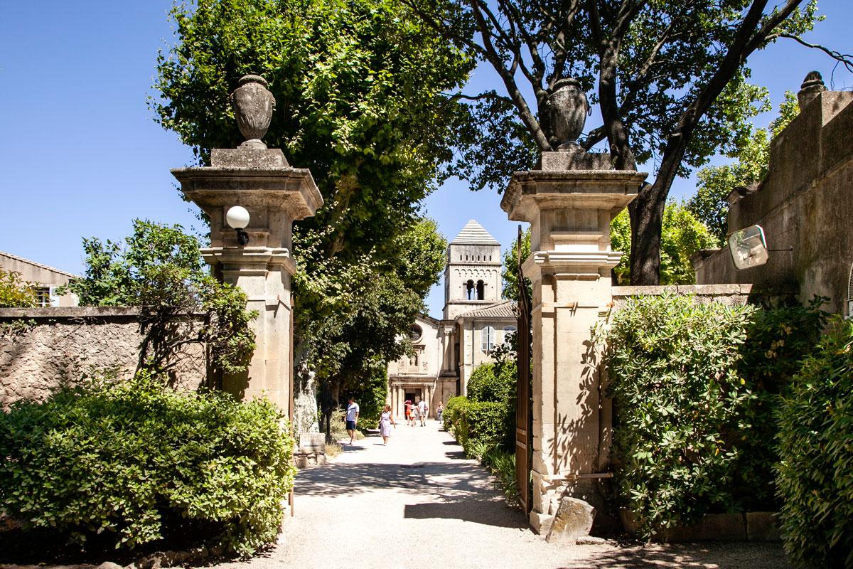 Ingresso all'ospedale psichiatrico di van Gogh - Saint Paul de Mausole a Saint Remy de Provence