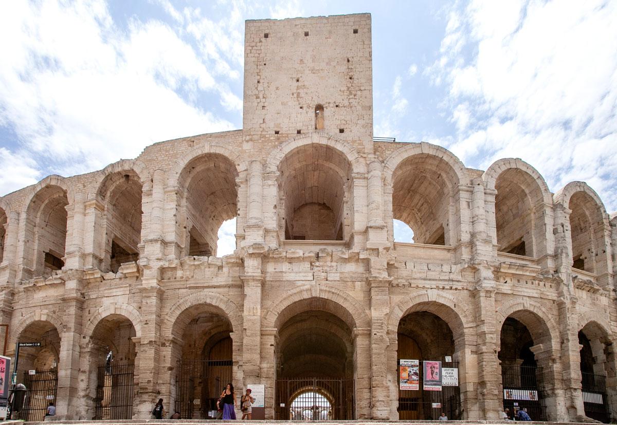 Ingresso all'Arena di Arles
