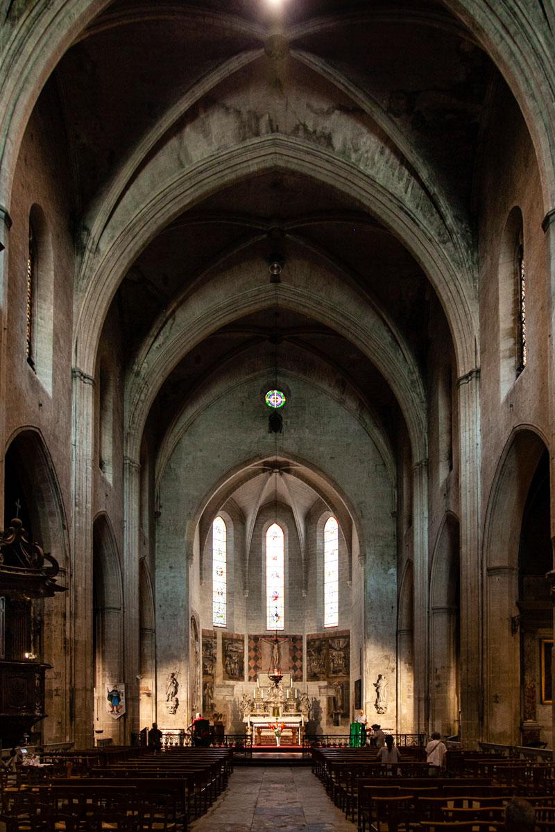 Interni Chiesa di Saint Didier