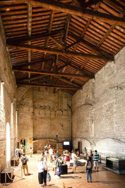 La Stanza Bruciata di Palazzo dei Papi