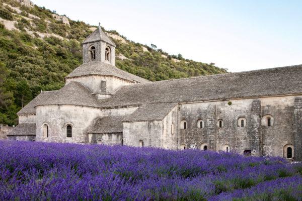 La chiesa dell'abbazia di Sénanque