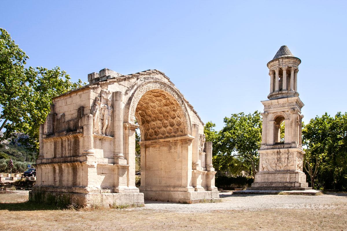 Les Antiques - Antichi monumenti romani a Saint Remy de Provence